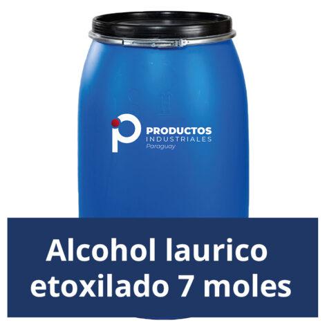 Venta de Alcohol laurico etoxilado 7moles en Paraguay