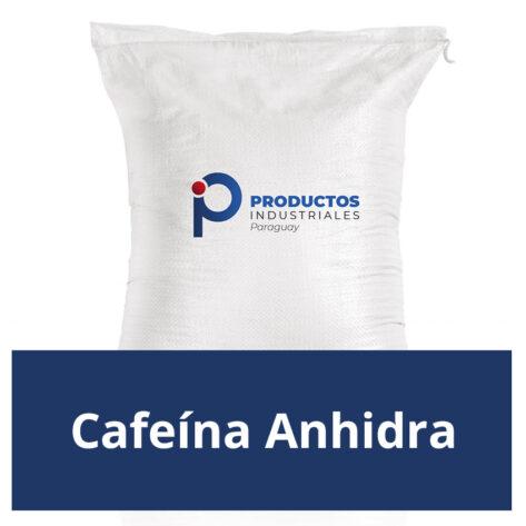 Venta de cafeína anhidra en Paraguay