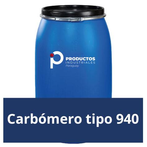 Venta de Carbómero tipo 940 en Paraguay
