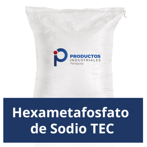 Venta de Hexametafosfato de Sodio TEC en Paraguay