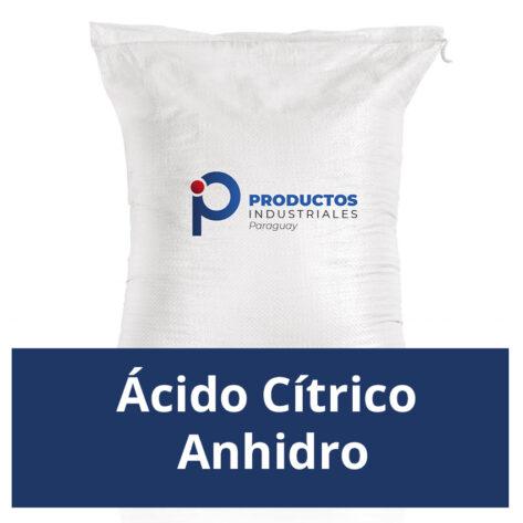 Venta de Ácido Cítrico Anhidro en Paraguay