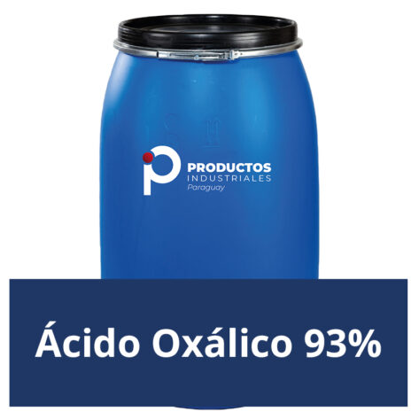Venta de Ácido Oxálico 93% en Paraguay
