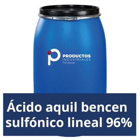 Venta de Ácido aquil bencen sulfónico lineal 96% en Paraguay